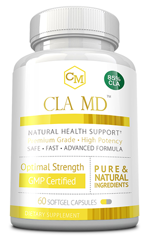 Cla md ingredients bottle